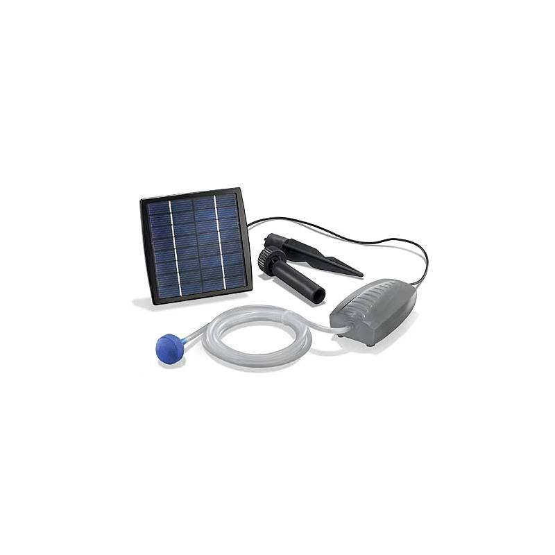 Solar-powered pond aerator Air S