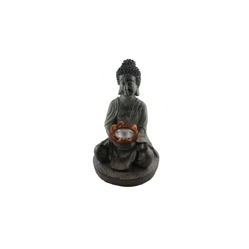 Lampe solaire Bouddha