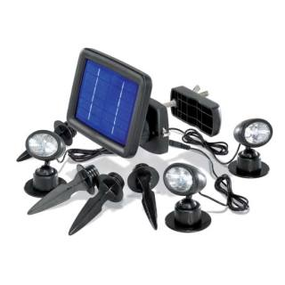 Solar floodlights set of 3 Trio Spot