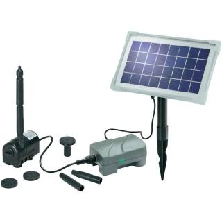 Solar-powered pond pump kit Rimini plus N