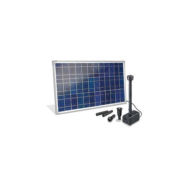 Solar-powered pond pump kit Marino