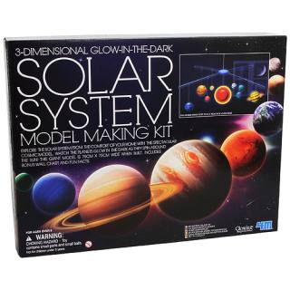 Experiment kit Glow in the Dark Solar System