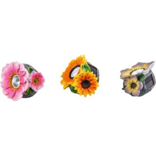 Flower light Flora set of 3