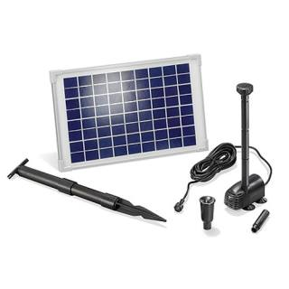 Solar-powered pump kit esotec Water Splash 610