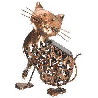 Animal figure light Metal Cat