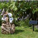 Smart Solar Solar-Kaskadenbrunnen Liliana