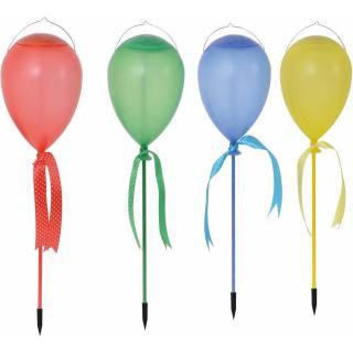 Näve Solar-Luftballonleuchte 4er Set