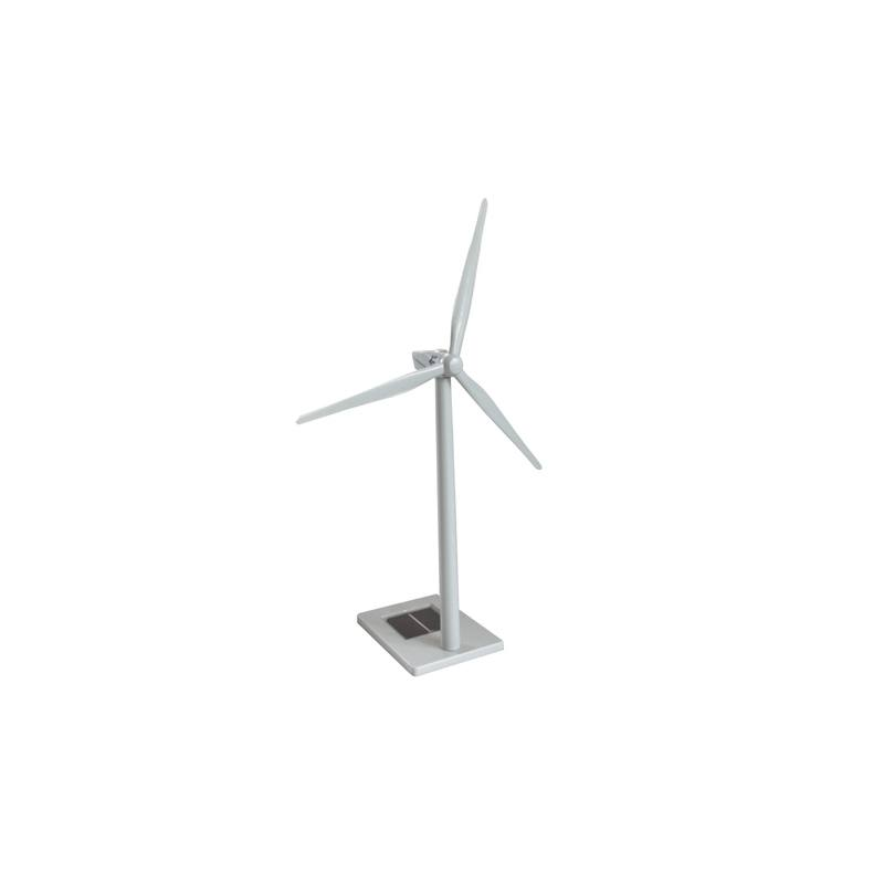 Solar-powered model Wind Turbine Model Repower MD70 with Gear