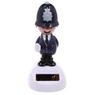 Solar-Wackelfigur Polizist