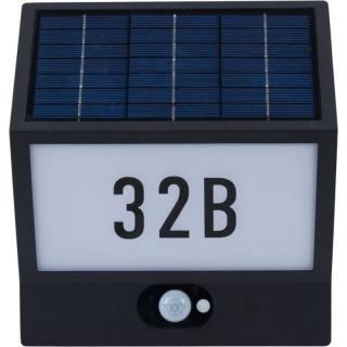 Heitronic Solar-Hausnummernleuchte Andrea
