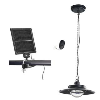 Solar-powered shed light
