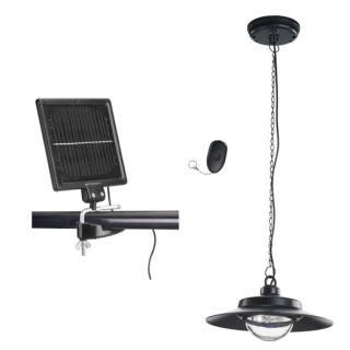 Eclairage de cabane solaire