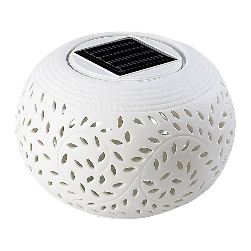 Cole and Bright Filigree Table Solar Light