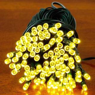 Guirlande solaire à 200 LED