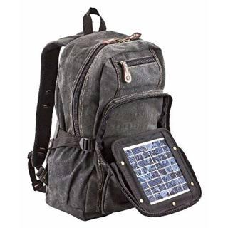Solar Backsack black