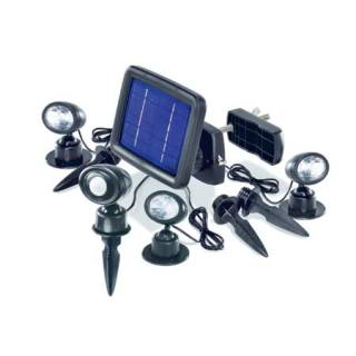 Solar-powered flood light Trio PIR