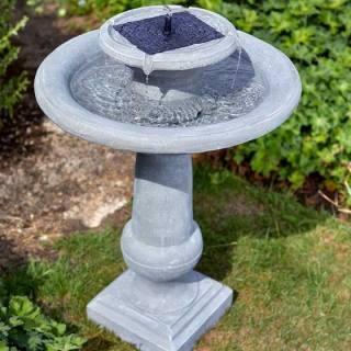 Solar-powered Birdbath Fountain Chatsworth