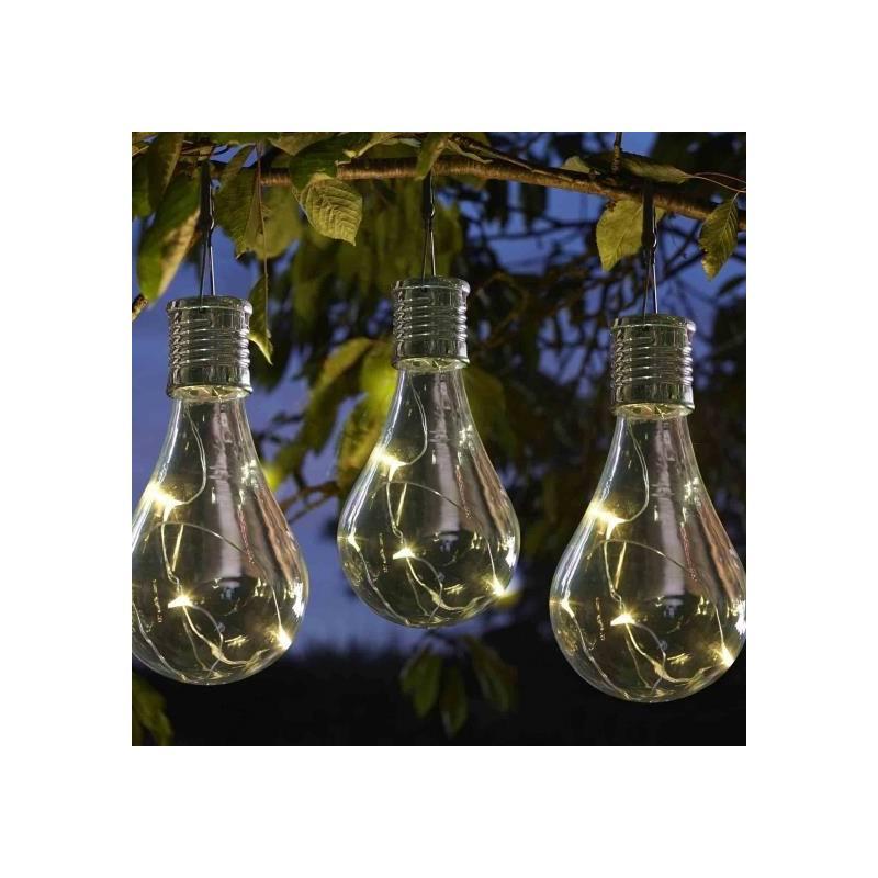 Solar-Glühbirnen 'Heureka' im 6er-Pack