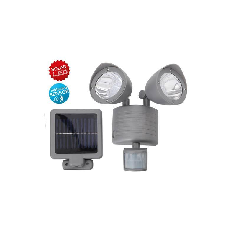 Solar-Duo-Lampe mit Bewegungsmelder von Näve