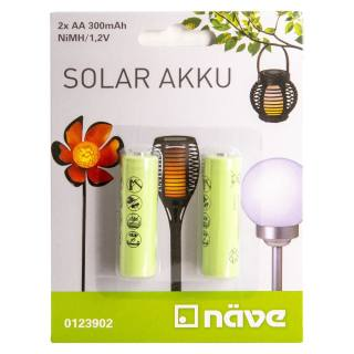 Naeve Battery NiMH AA 1,2 V/300 mAh one pair