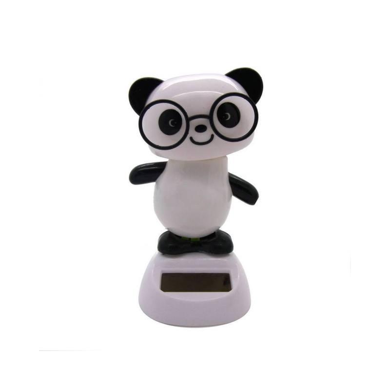 Solar-Wackelfigur 'Panda'