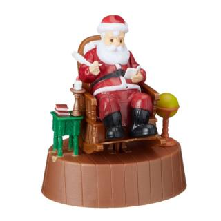 Solar-powered Model Santa Claus