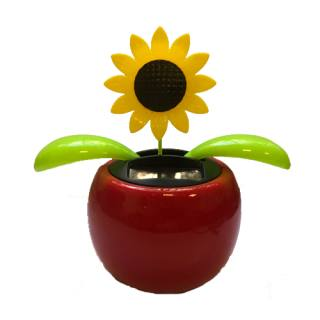 Solar-powered pot plant Wiggle Jiggle Flower