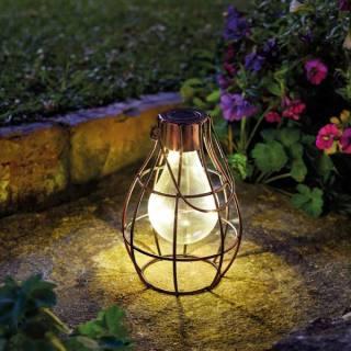 Lampe solaire ampoule Edison Eureka