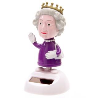 Solar-Wackelfigur Queen
