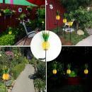Lampe solaire de décoration Ananas