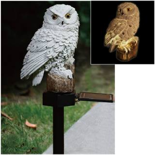 White Owl Solar Light