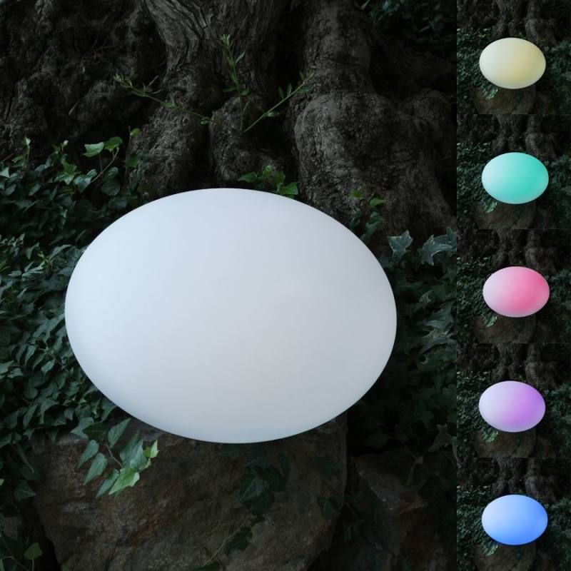 Solar LED Garden Light Pebble