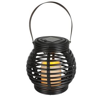 Solar-Laterne Rattanstyle