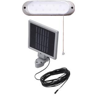 Solar-powered wall light Arbour light