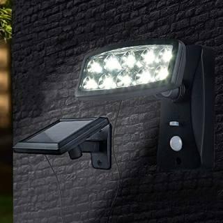 Lampe solaire à détecteur de présence