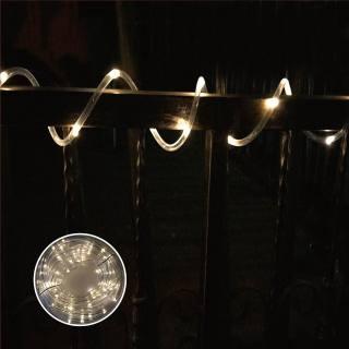 Solar-Lichterschlauch 9 m / 75 LEDs