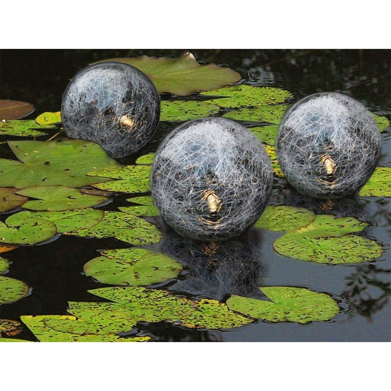 Floating Solar Ball Light Set of 3