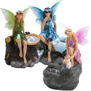Solar-powered light Elf Light set of 3