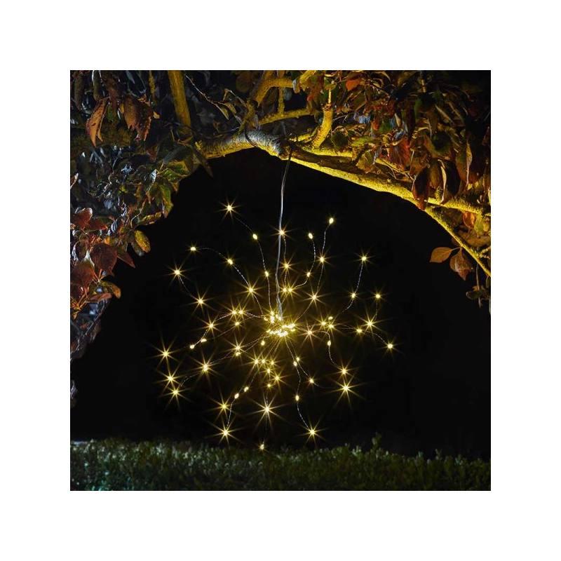 Solar-Hängeleuchte Sternenhimmel