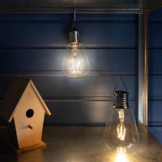 Galix Solar-Glühbirne mit Filament