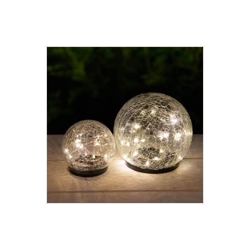 Premium Solar-Glas-Leuchtkugel von Galix