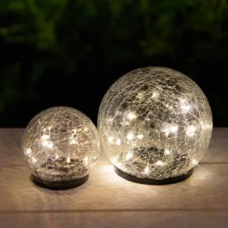 Solar Glass Sphere Lamp