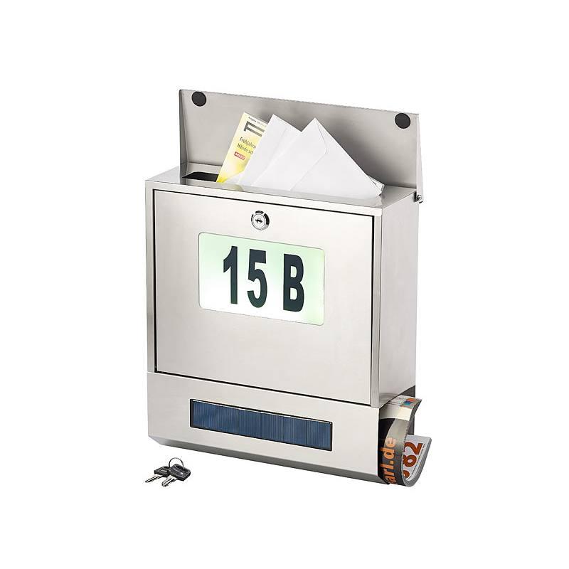 Solar-Briefkasten