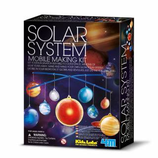 4M KidzLabs Mobile 2D-Leucht-Sonnensystem