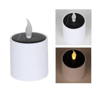 Solar-powered tabletop Candle Light