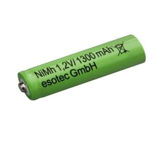 Battery NiMH AA 1,2 V/1300 mAh one piece