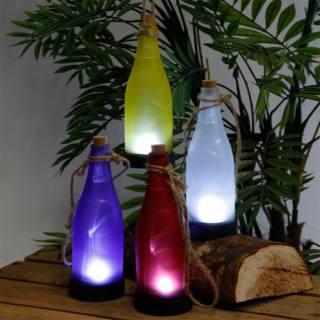 Solar-LED-Flaschenleuchte