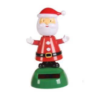 Figurine solaire Père Noël