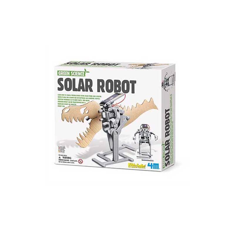 Green Science experiment kit Solar Robot