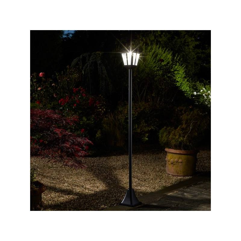 Whitehall Solar-powered Lamp Post